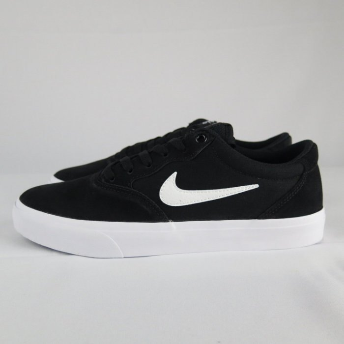 【iSport愛運動】NIKE SB CHRON SLR 滑板鞋 CD6278002 男款 黑