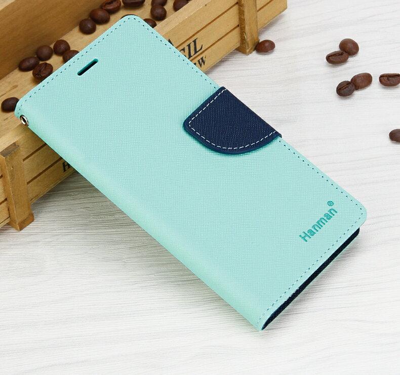 Outlet特賣Samsung Note 8馬卡龍雙色手機皮套 特價品海水綠專區2 $49
