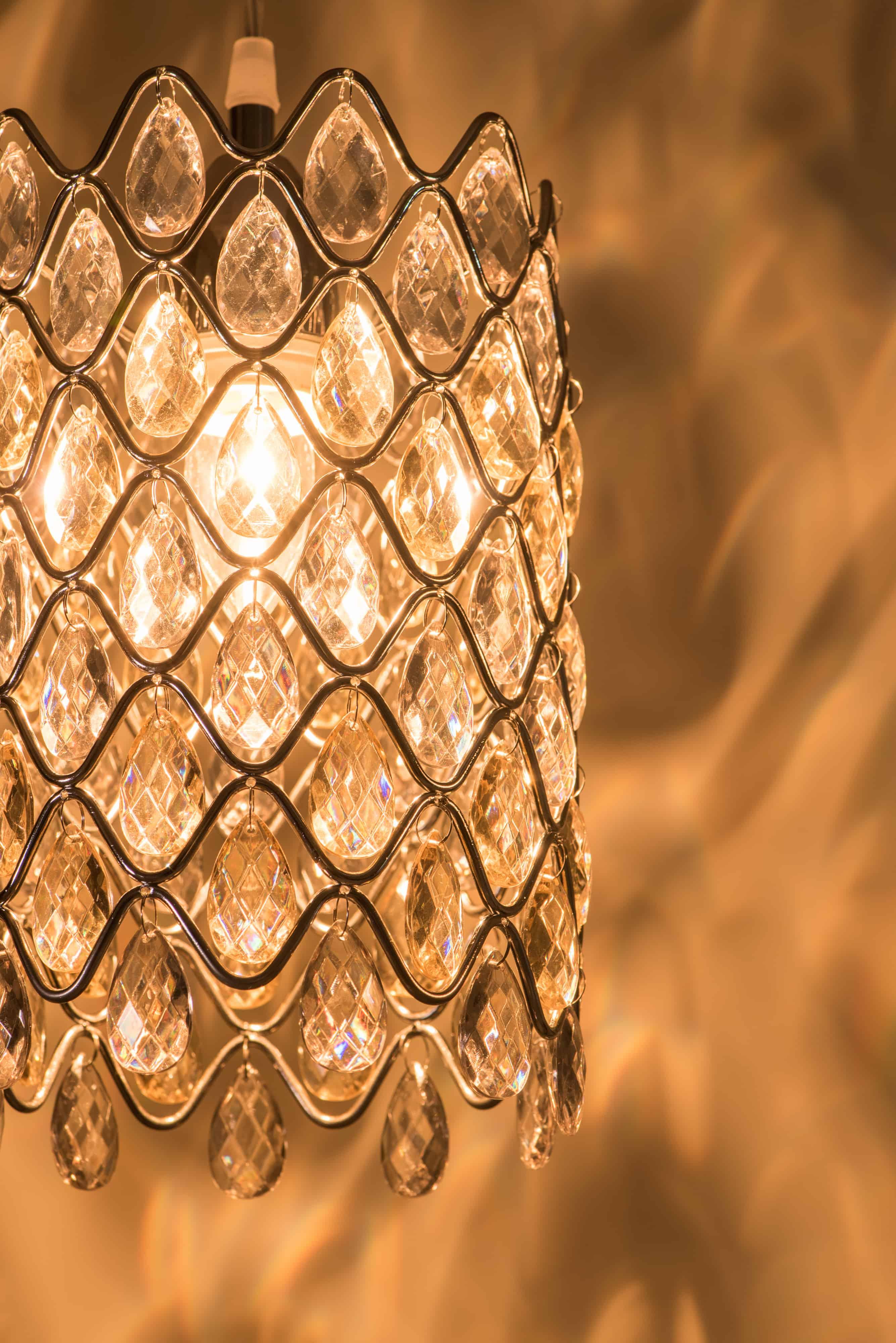 鍍鉻波浪紋壓克力珠吊燈-BNL00051 5