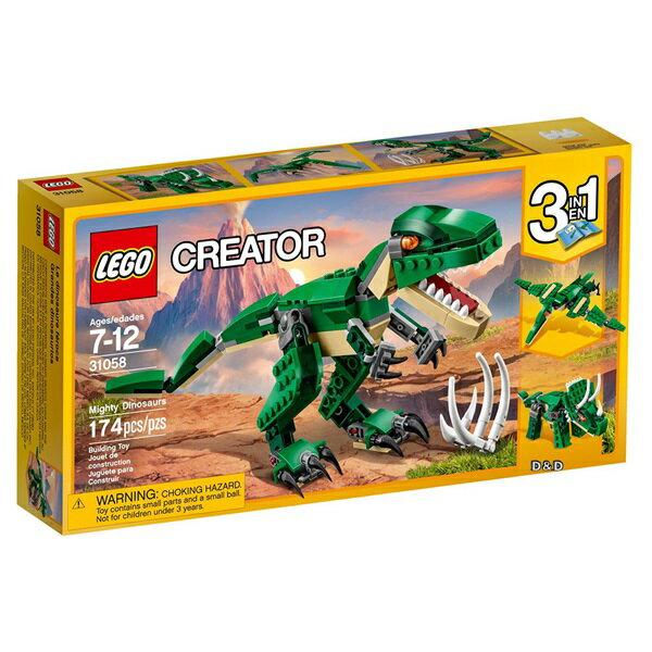 樂高積木LEGO《LT31058》2017年Creator創意大師系列-巨型恐龍
