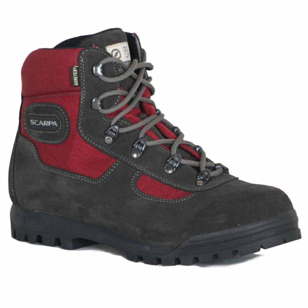 贈Smartwool襪├登山樂┤義大利Scarpa LITE TREK GORE-TEX 60023高筒登山鞋 紅 #SP60023