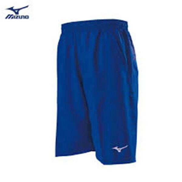 Mizuno 男裝 短褲 輕薄 透氣 口袋拉鍊式 藍【運動世界】32TB801322【APP限定   單筆滿799元結帳輸入序號『GT-MEN1906』再折70元】