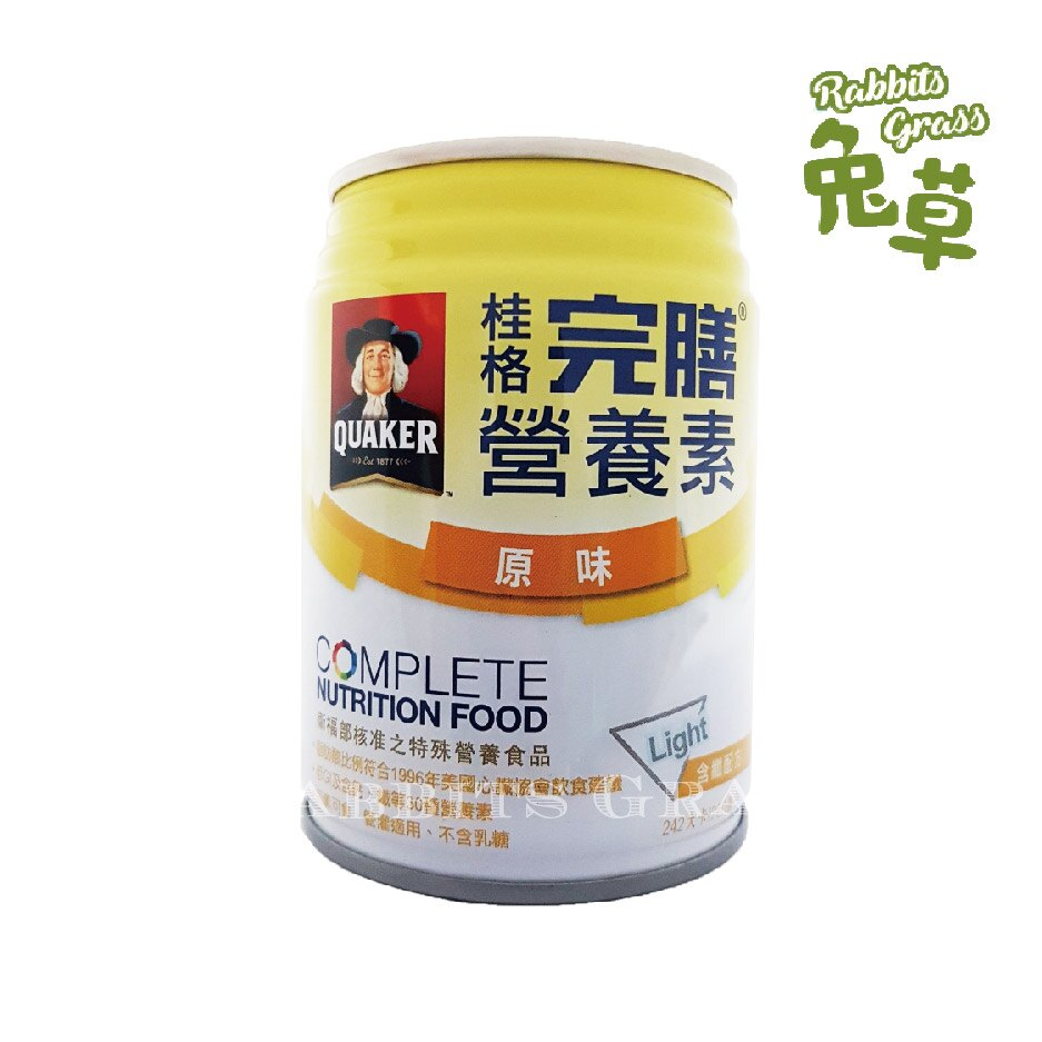 桂格 完膳 含纖配方 原味少甜 250ml*1罐 桂格完膳營養素均衡營養配方
