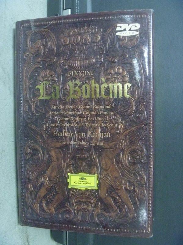 【書寶二手書T9/藝術_KRE】Giacomo Puccini: La Boheme_附DVD