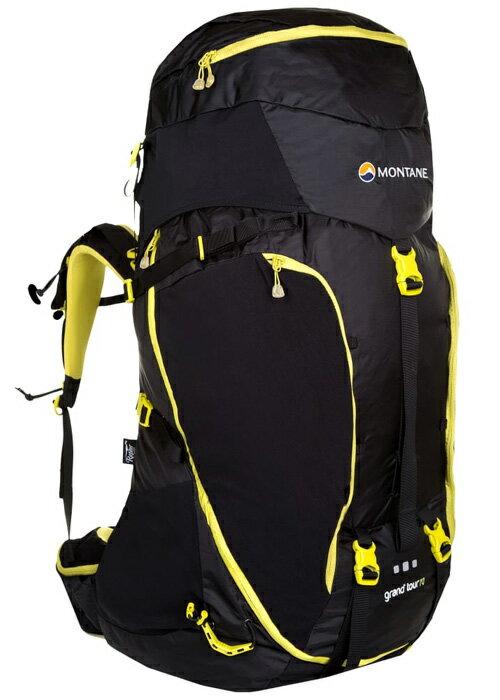 【鄉野情戶外用品店】 Montane  英國  Grand Tour 壯遊背包/登山背包 重裝背包 自助旅行背包-黑/PGT70 【容量70L】