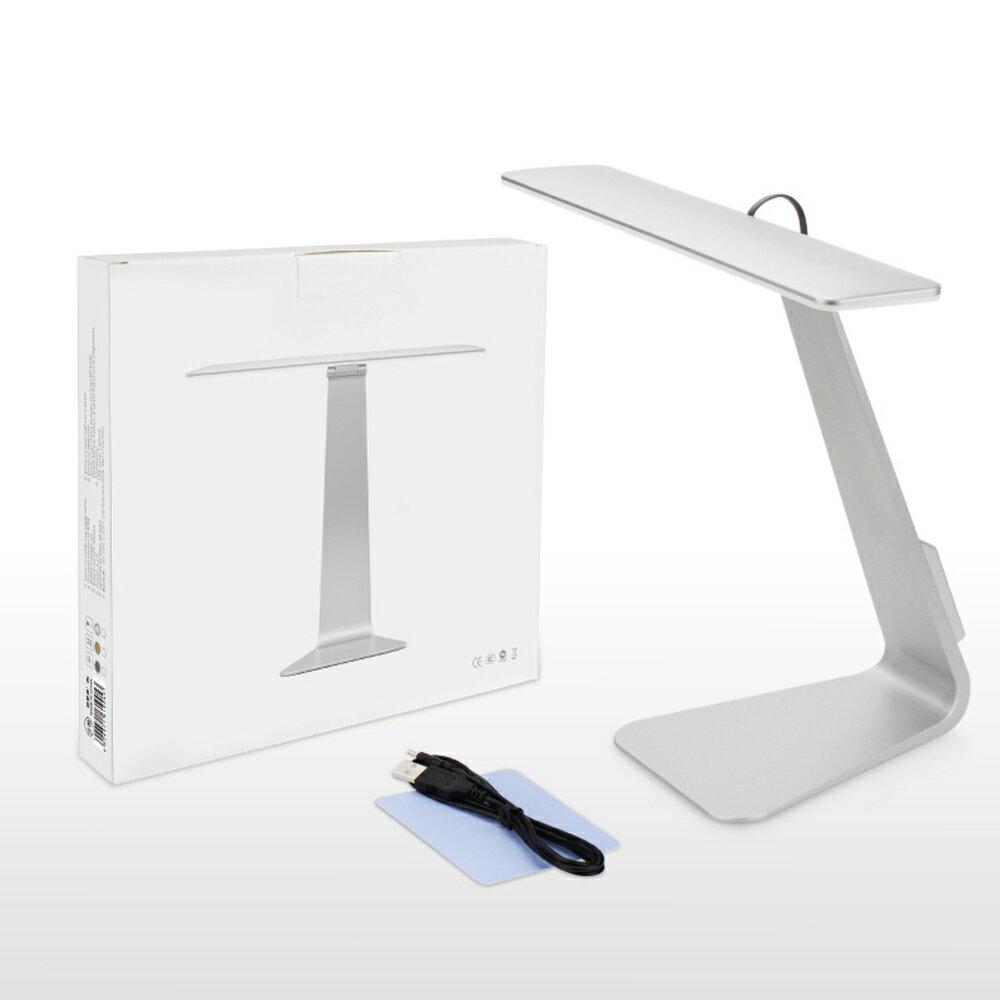 新款 創意超薄折疊LED檯燈 觸摸式USB充電檯燈 極簡護眼檯燈 辦公學習工作