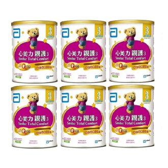 亞培 心美力親護3 成長配方 (820g×6罐)