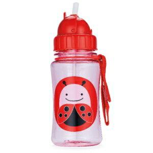 小烏龜精品童裝店:寶貝喝水的好夥伴SKIP*HOP可愛水壺-瓢蟲