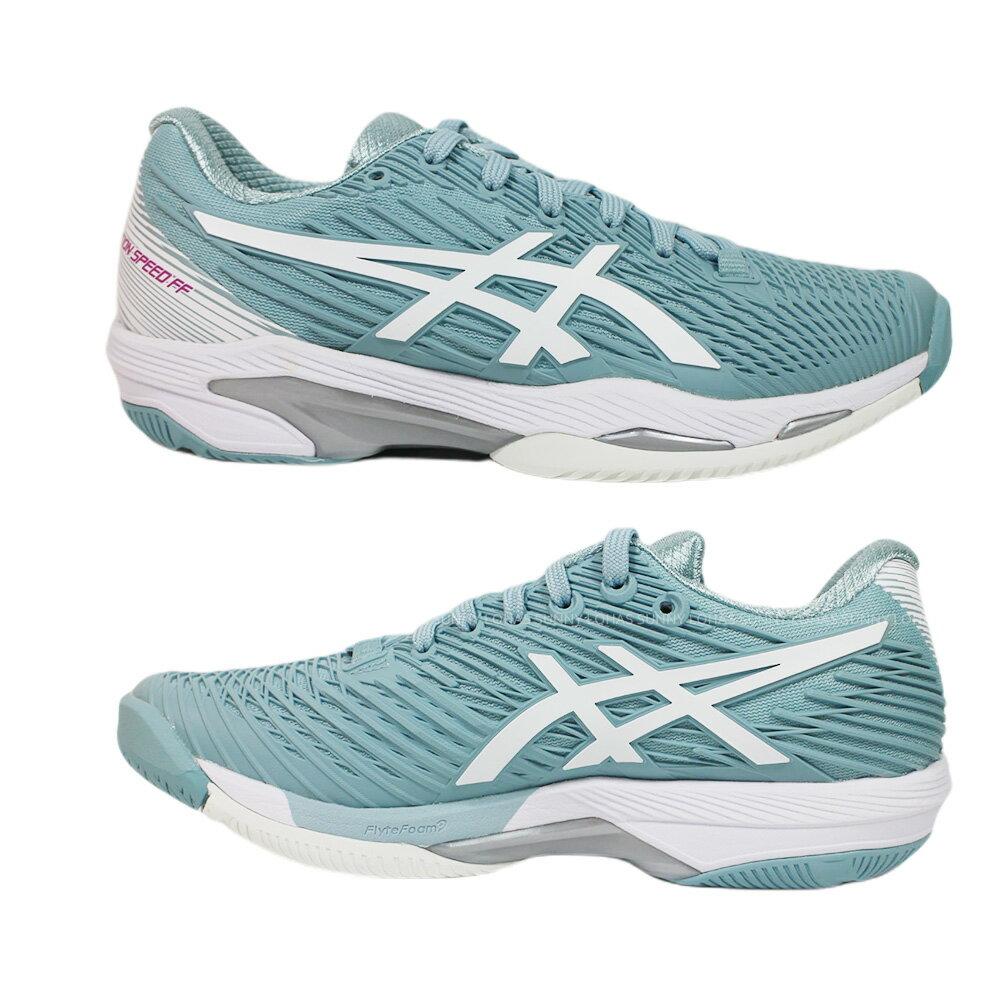 (C1) ASICS 亞瑟士 網球鞋SOLUTION SPEED FF 2 女鞋 1042A136-400澳網配色{陽光樂活}