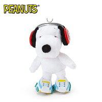 史努比Snoopy商品推薦,史努比娃娃/玩偶/抱枕推薦到溜冰款【日本正版】史努比 造型玩偶 吊飾 絨毛玩偶 Snoopy PEANUTS - 583319