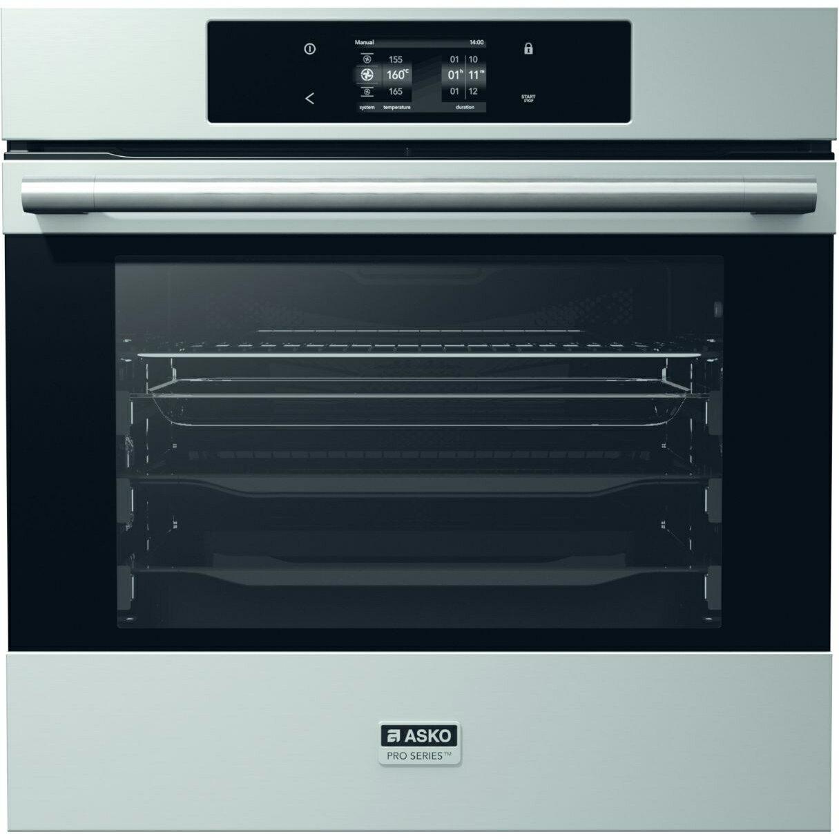 [滿3千,10%點數回饋]ASKO 瑞典賽寧 Pro系列73公升嵌入式熱自解烤箱 OP8676S 【送標準安裝】【雅光電器】