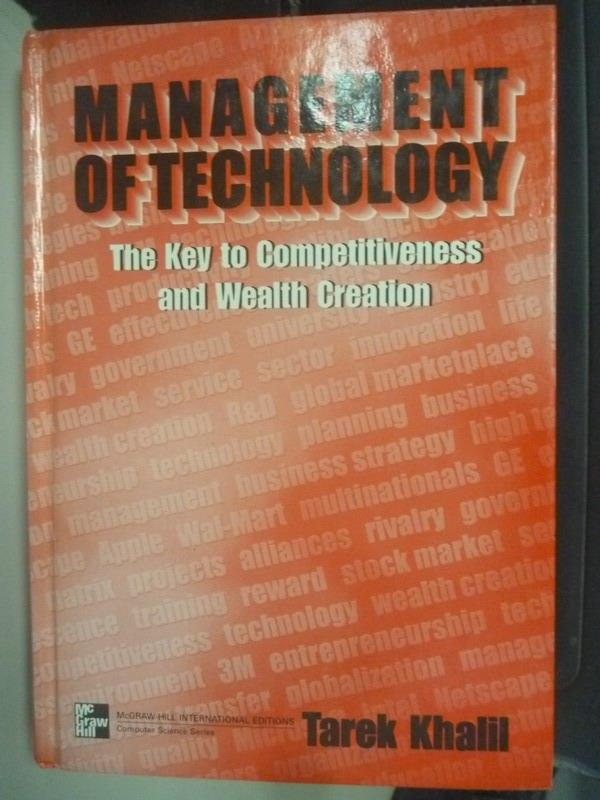~書寶 書T3/大學教育_YGM~Management of Technology_Kha
