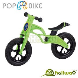 【Holiway】POP BIKE 兒童滑步車-充氣胎 (7色) 4