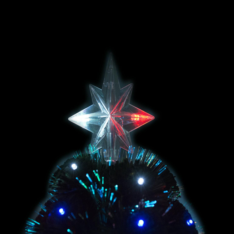 HomCom 3' Artificial Holiday Decoration Light Up Christmas Tree - Green 4