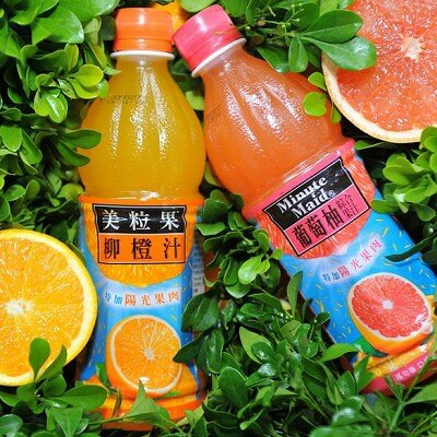 美粒果柳橙汁450ml*24瓶【愛買】 - 限時優惠好康折扣