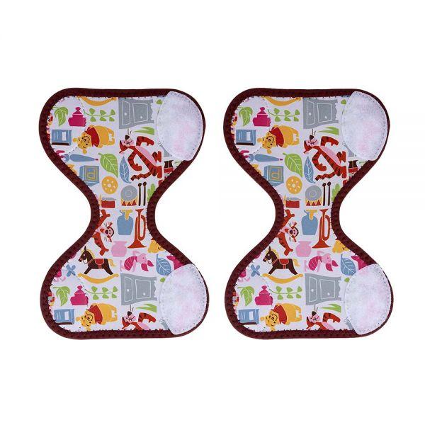 小奶娃婦幼用品:ViViBaby-Disney迪士尼維尼熊童趣推車手把套(2入組)