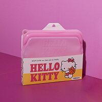 Hello Kitty矽膠密封袋-粉-生活工場-生活工場-居家生活推薦
