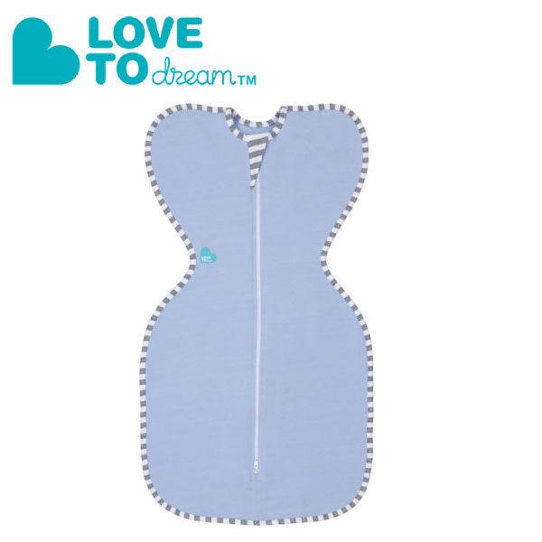 澳洲 Love To Dream SWADDLE UP專利蝶型包巾 stage1 新生兒包覆款 - 藍(S) 『121婦嬰用品館』
