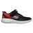 Shoestw【97867LBKRD】SKECHERS GO RUN 600 中童鞋 運動鞋 慢跑鞋 黑紅灰 黏帶 0