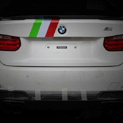 沂軒精品:BMWM7.5cm三色貼紙車門貼F10F11F07G30F20E87E46F33