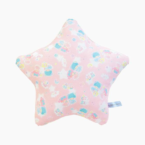 【真愛日本】17090400007 星型靠抱枕-TS星空粉+ABA 三麗鷗家族 Kikilala 雙子星 靠枕 枕頭套 寢具