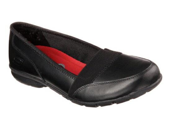 [陽光樂活]SKECHERS (女) WORK RELAXED FIT 健走系列 上班 工作鞋- 76579BLK