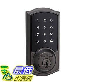 [107美國直購] 智能門鎖 Kwikset 916 Z-Wave SmartCode Touchscreen Electronic Deadbolt, Featuring SmartKey