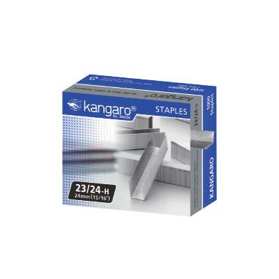 袋鼠 kangaro 23 24~H 釘書針  盒