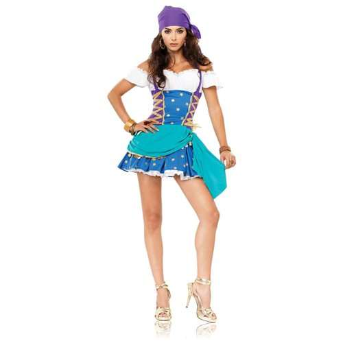 Adult Sexy Gypsy Princess Costume 0