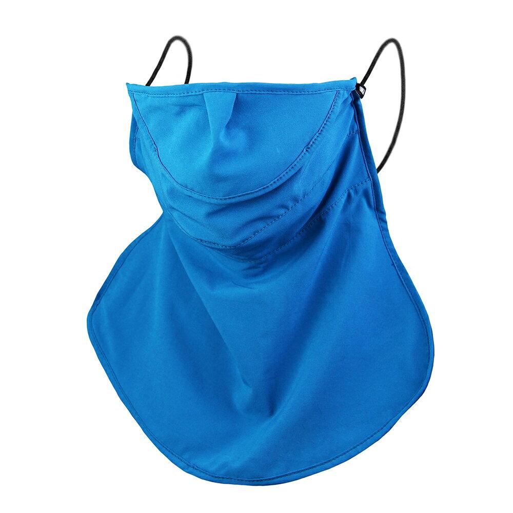 【WELL FIT】UVFIT立體加長防曬口罩-藍綠