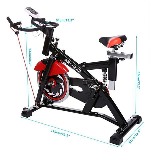 Indoor Cycling Bike Health Fitness Training Gym Equipment 4