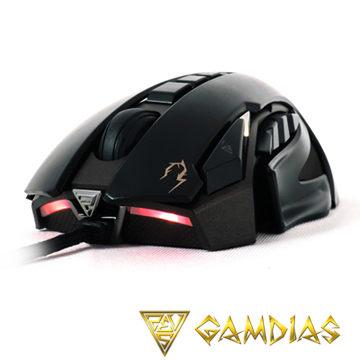 *╯新風尚潮流╭*GAMDIAS 雷火ZEUS-ESPORT版 電競雷射滑鼠 GMS1100