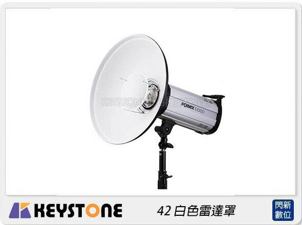 【銀行刷卡金+樂天點數回饋】Keystone 42 白色雷達罩 Bowens (公司貨)
