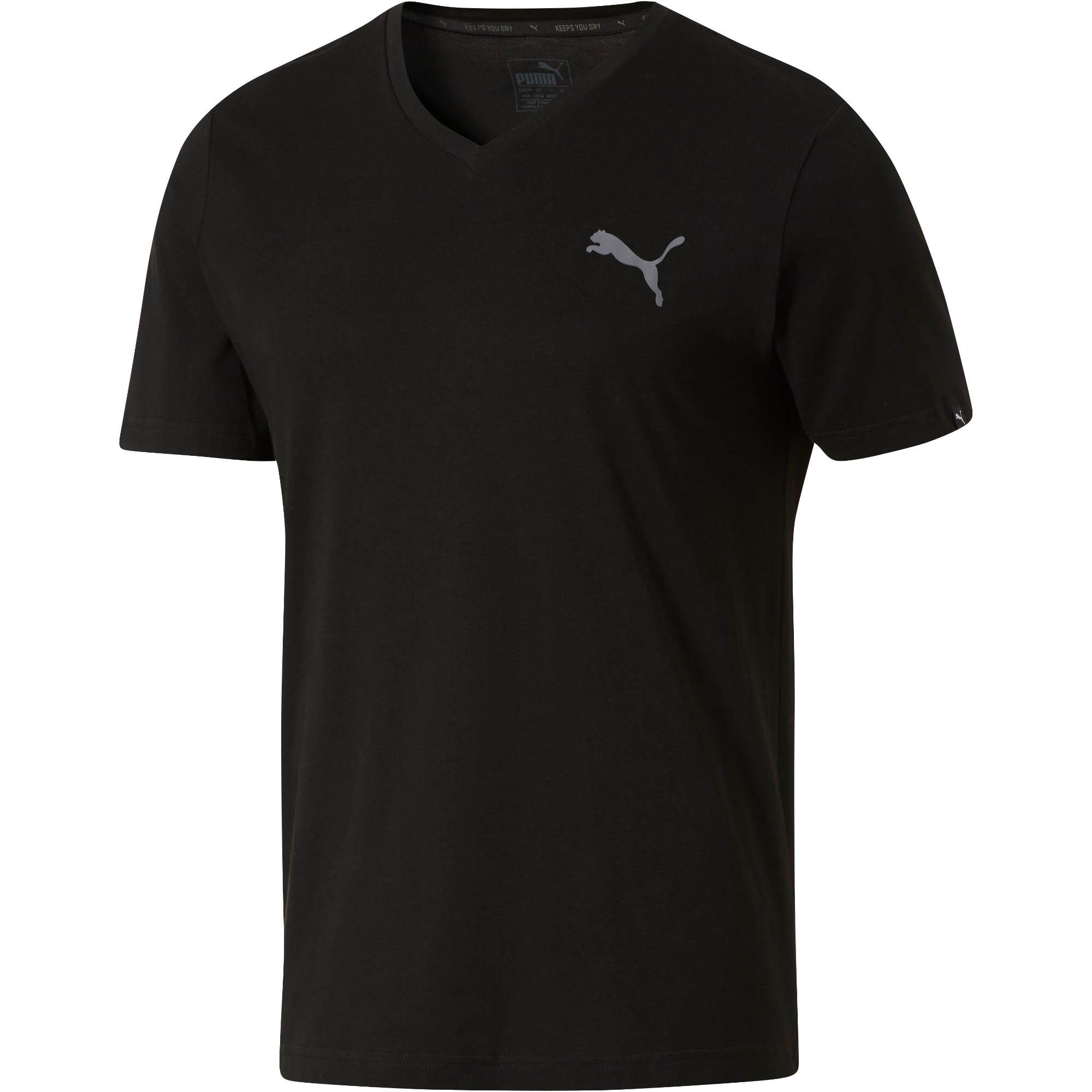 PUMA Iconic V-Neck T-Shirt 0