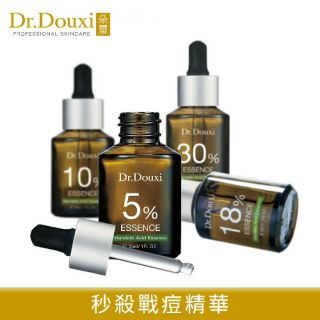 【Dr.Douxi 朵璽】杏仁酸精華液5% 10% 18% 30% 30ml(預防口罩痘) 全新封膜 效期2023.08【淨妍美肌】