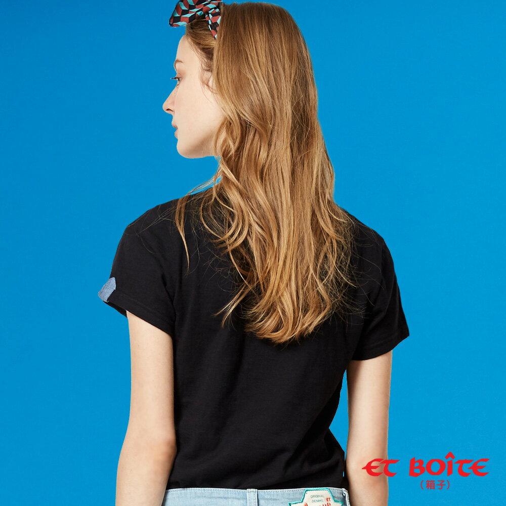 【夏日音樂派對】Et Amour電音Keyboard喵娃短袖T恤(黑) - BLUE WAY  ET BOiTE 箱子 2