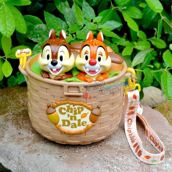 【真愛日本】18092800003樂園限定爆米花筒-奇蒂橡果籃東京迪士尼樂園帶回奇奇蒂蒂爆米花桶橡果日本帶回