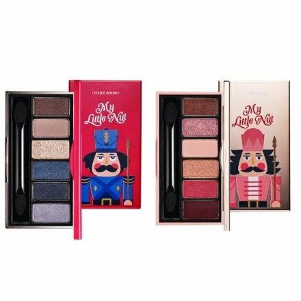 【跑全球Run購物】 ETUDE HOUSE 聖誕幻彩眼影盤(0.7g x 6色) 兩款可選
