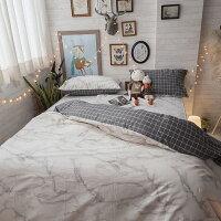 居家生活寢具推薦精梳棉 床包 被套 兩用被 床組 單人床包組/雙人床包組 [ 白大理石 ] 台灣製造 棉床本舖 好窩生活節。就在棉床本舖Annahome居家生活寢具推薦