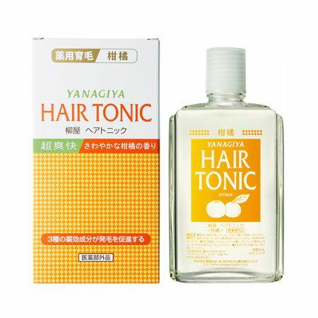 日本 Yanagiya 雅娜蒂 柳屋 髮根營養液 柑橘香 240ml 滋養 髮根 護髮 養髮 必備【N102245】