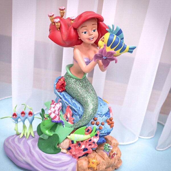 PGS7日本迪士尼系列商品-日本迪士尼超稀有超精緻小美人魚雕像擺飾【SDD71058】