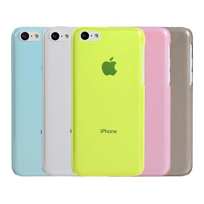 Ultimate- iPhone 5C 簡約超薄羽量硬質手機外殼防摔後背蓋果凍套 保護套 軟殼 保護殼 手機殼