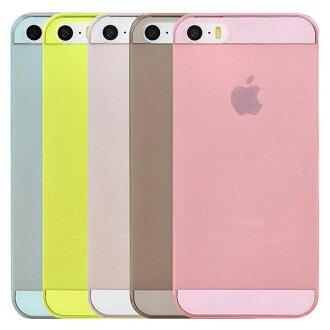 Ultimate- iPhone 5(5S)( iPhone SE ) 簡約超薄羽量硬質手機保護套 保護殼 手機背蓋 手機殼 果凍套 iPhone 5S