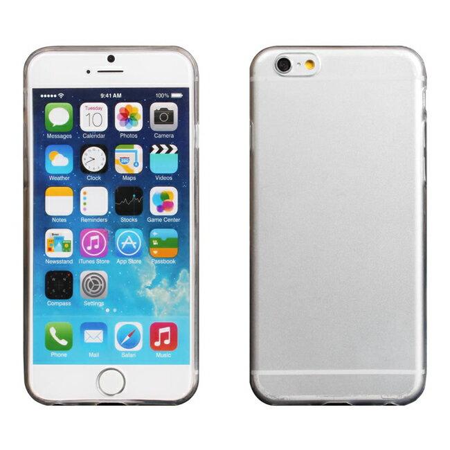 Ultimate- iPhone 6  超薄全透點紋軟質手機外殼防摔後背蓋保護套 保護殼 手機殼