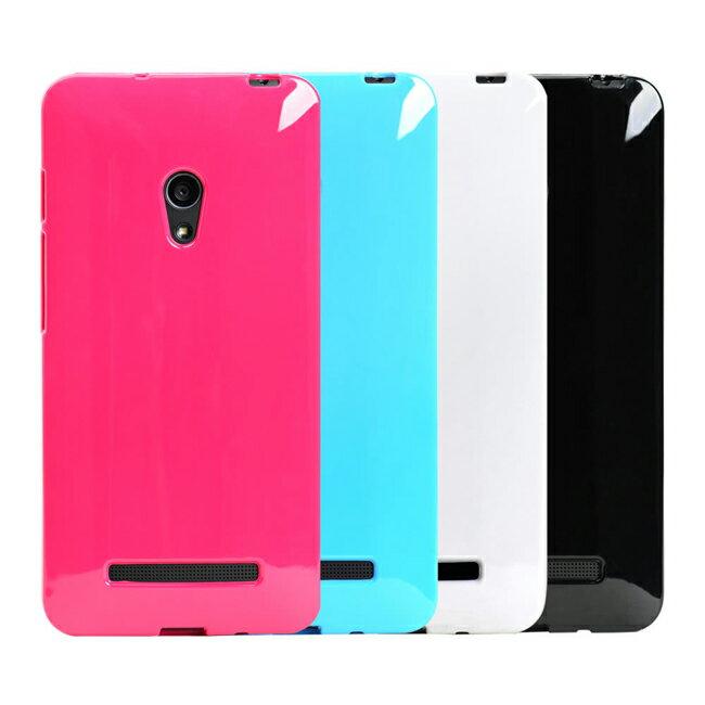 Ultimate- ASUS Zenfone4.5 亮麗全彩軟質手機保護套 手機背蓋 手機殼 防摔果凍保護套 清水套