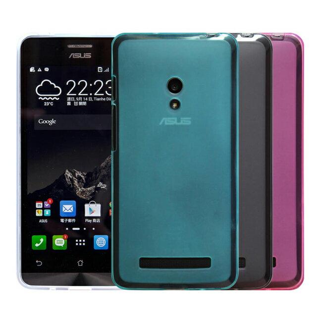 Ultimate- ASUS Zenfone2 (5.5吋) 輕量氣質霧面軟質手機果凍保護套 背蓋 手機殼 手機保護軟殼