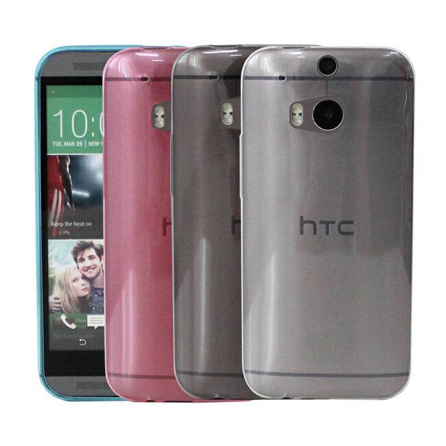 Ultimate- HTC One (M8) 0.65mm超薄炫彩點紋軟質保護殼 手機保護套 軟質保護殼 清水套 保護殼