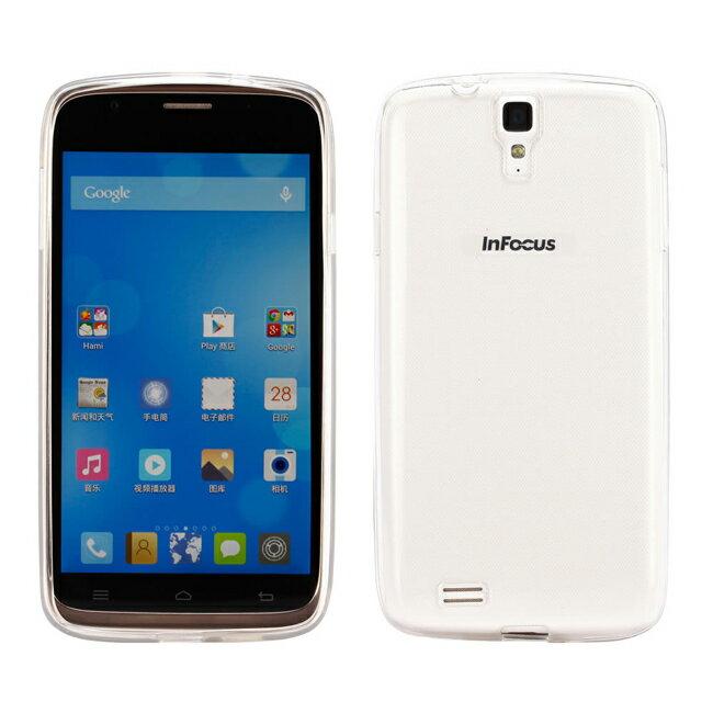 Ultimate- Infocus m320 清新全透軟質保護殼 手機保護殼 防摔後背蓋果凍套 清水套 透明軟殼