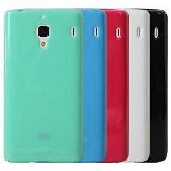Ultimate- 紅米 亮麗全彩軟質手機保護套 手機背蓋 手機殼 防摔果凍保護套 清水套 保護殼