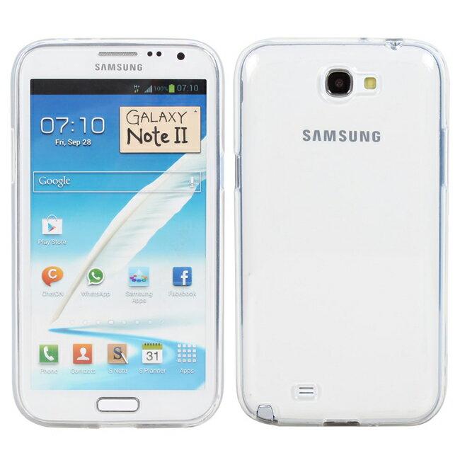 Ultimate- Samsung Note2(N7100) 清新全透軟質手機保護套 手機背蓋 手機殼 透明清水套